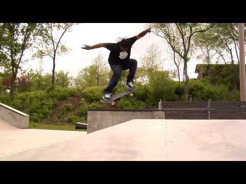 Gershon Mosley's The Park Ranger Series-Centennial skate park, Lawrence, Ks.