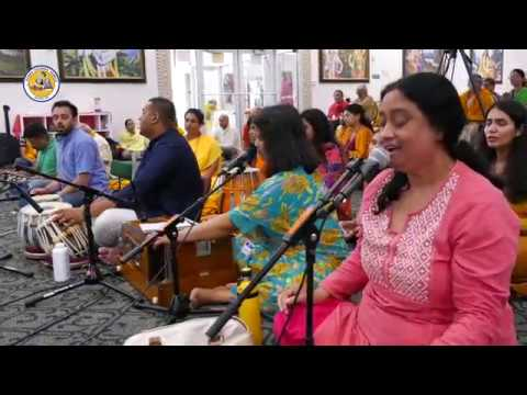 Day4 Glimpses of Family Camp 2019 at Radha Krishna Temple, Allen TX
