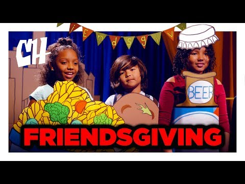 The Story of the First Friendsgiving