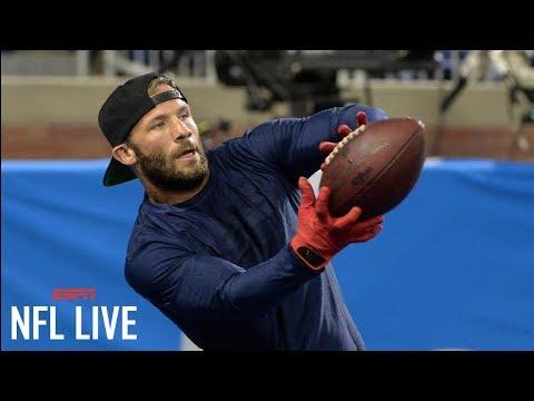 Julian Edelman workout video shows progress for Patriots   NFL Live   ESPN