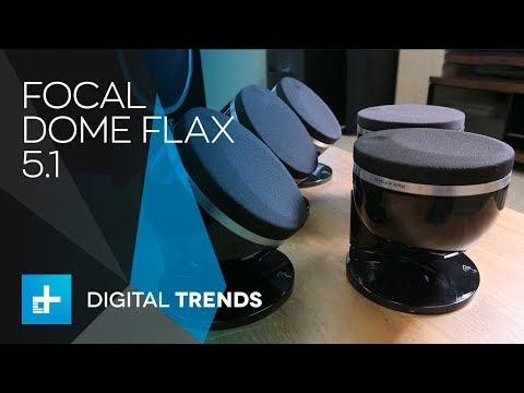 Focal Dome Flax 5.1 Home Theater Speakers – Hands On Review
