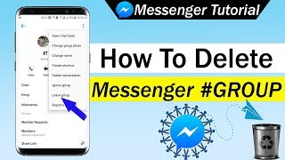 How To Delete Messenger Group