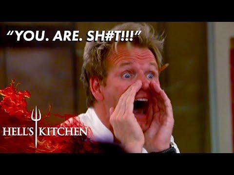 Gordon Ramsay Going Absolutely Berserk   Hell's Kitchen