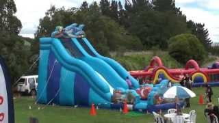 preview picture of video 'Inflatable Event Activities & Amusements, Palmerston North'