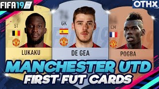 FIFA 19   Manchester United First and Current FUT Cards + Faces & Potential   @Onnethox