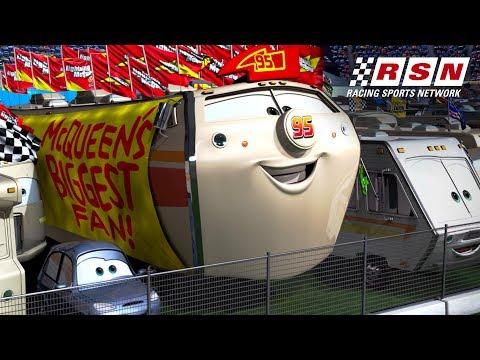 Lightning McQueen's Biggest Fans   Racing Sports Network by Disney