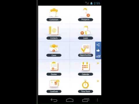 Video of NSDroid for NetSuite CRM