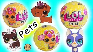 LOL Surprise Pets Blind Bag -  Litter Box Sand  , Cry , Color Change ?