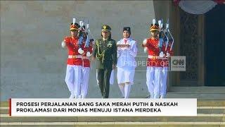 Download Video FULL VIDEO 1: Perjalanan Sang Saka Merah Putih & Naskah Proklamasi Dari Monas - Istana Merdeka MP3 3GP MP4