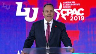 Kentucky Governor Matt Bevin - CPAC at Liberty University