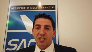 Simone De Cesare All'aeroporto Dello Stretto Di Reggio Calabria