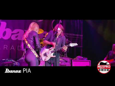 "Steve Vai & Nita Strauss - ""The Animal"" Live at NAMM 2020 Ibanez Pia Concert - Passion and Warfare"