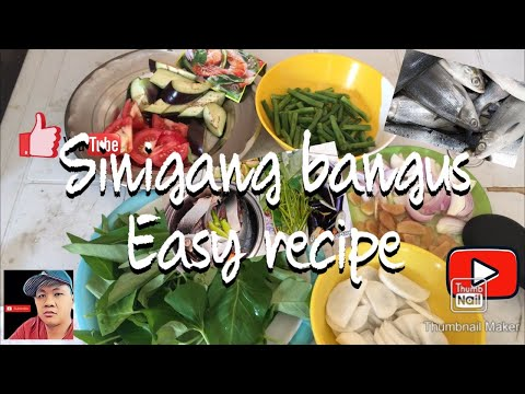 Sinigang bangus easy cooking recipe
