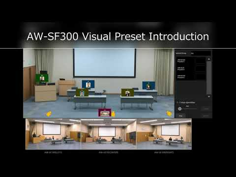 Visual Presets Software Key AW-SF300