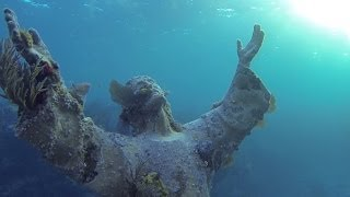Christ of the Abyss Statue Filmed by VideoRay Pro 4 ROV