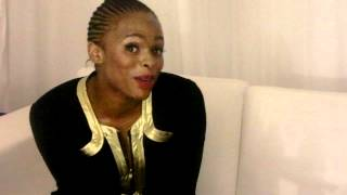 Unathi Msengana at the 2nd TOPS Gugulethu Wine Festival in Cape Town