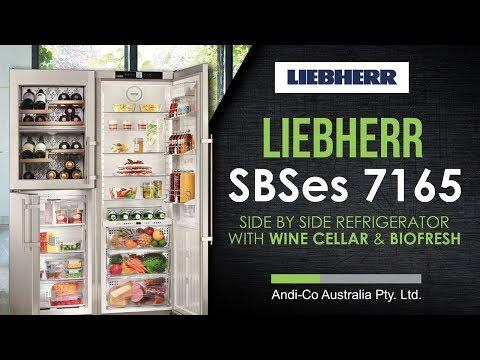 Side By Side Kühlschrank Liebherr : Liebherr sbses günstig ab u ac bei preis bestellen