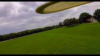 Disc Golf - FPV Chasing - I met a Dude Slingin' Plastic - I Chased said Plastic - Slammed Alien