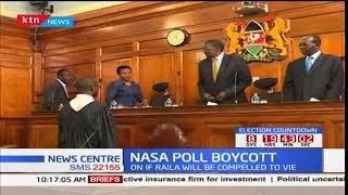 Election observers wants IEBC to seek Supreme court's interpretation of Raila Odinga's withdrawal