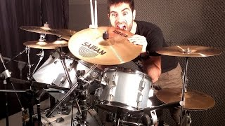 DEEP PURPLE - Lay Down Stay Down (Drum Cover By BalDrum) HD