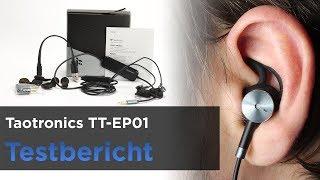 TaoTronics EP01 im Test - In-Ear Kopfhörer mit Kabel und Noise-Cancelling
