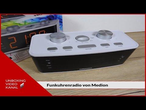 Funkuhrenradio von Medion - Unboxing Video