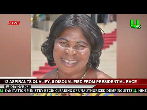 12 Aspirants Qualify, 5 Disqualified From Presidential Race