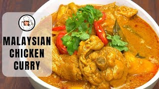 Malaysian Chicken Curry - Norahs Cooking Diary