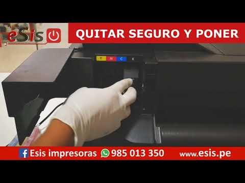 Plotter HP T120 con Cartucho Recargable