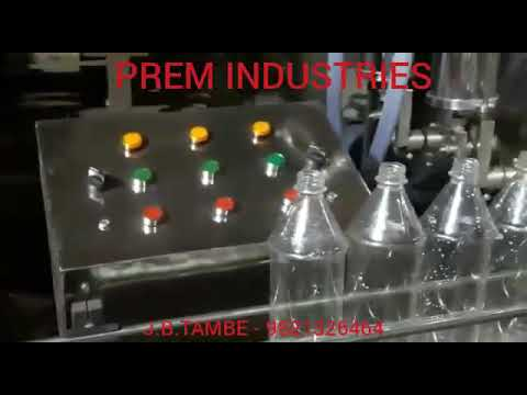 Automatic Sanitizer Filling & Capping Machine