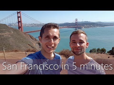 San Francisco in 5 minutes | Travel Guide | Must-sees for your city tour