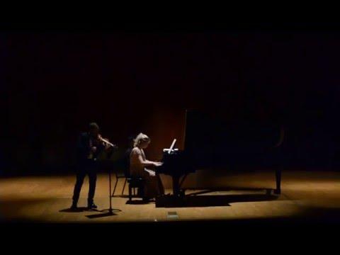 Sergei Prokofiev Violin Sonata No.2 in D major, 1 mvt