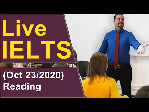 IELTS Live - Reading Section - Read Well, Score More
