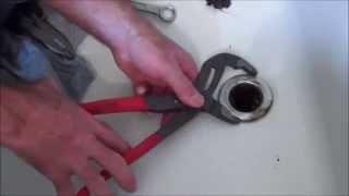 How to Change a Tub Drain (Spud).