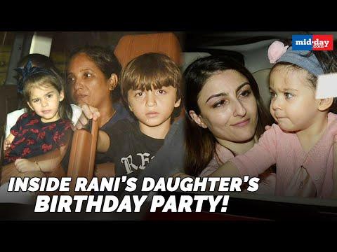 Shah Rukh Khan, Karan Johar, Kajol attended the Adira's Birthday Bash