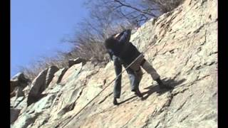 Daniel and Jon Fight on a Cliff.