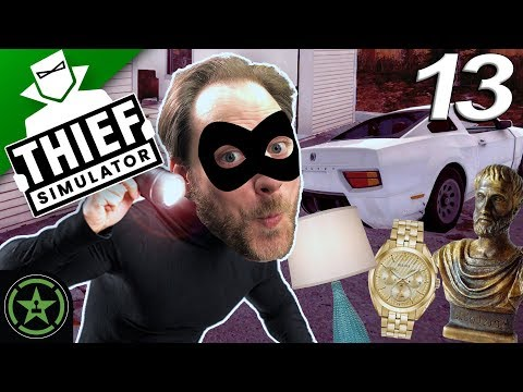 THE IMPOSSIBLE CAR THEFT - Thief Simulator (Part 13)   Let's Watch