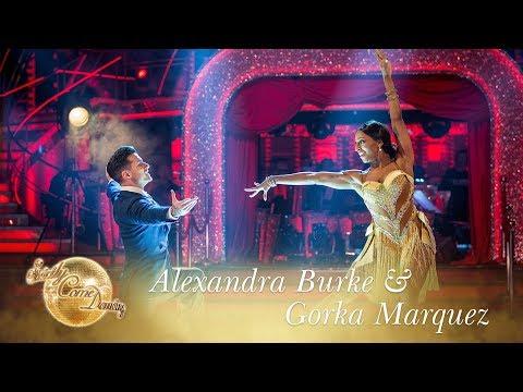 Alexandra Burke & Gorka Marquez Showdance to There's No Business Like Show Business - Final 2017