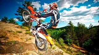 ЭНДУРО убойный МОТОКРОСС  ЖЕСТЬ покатушки Лунёво Владимир прыжки падения Motocross  Enduro Ковров