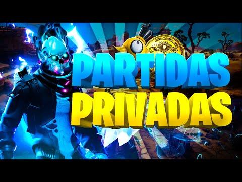 PARTIDAS PRIVADAS | PARTIDAS PERSONALIZADAS | COSTA ESTE | #FORTNITE | #SORTEO SKIN Y PDB