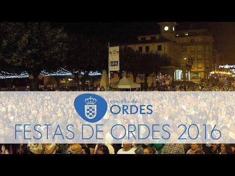 Festas Concello de Ordes 2016