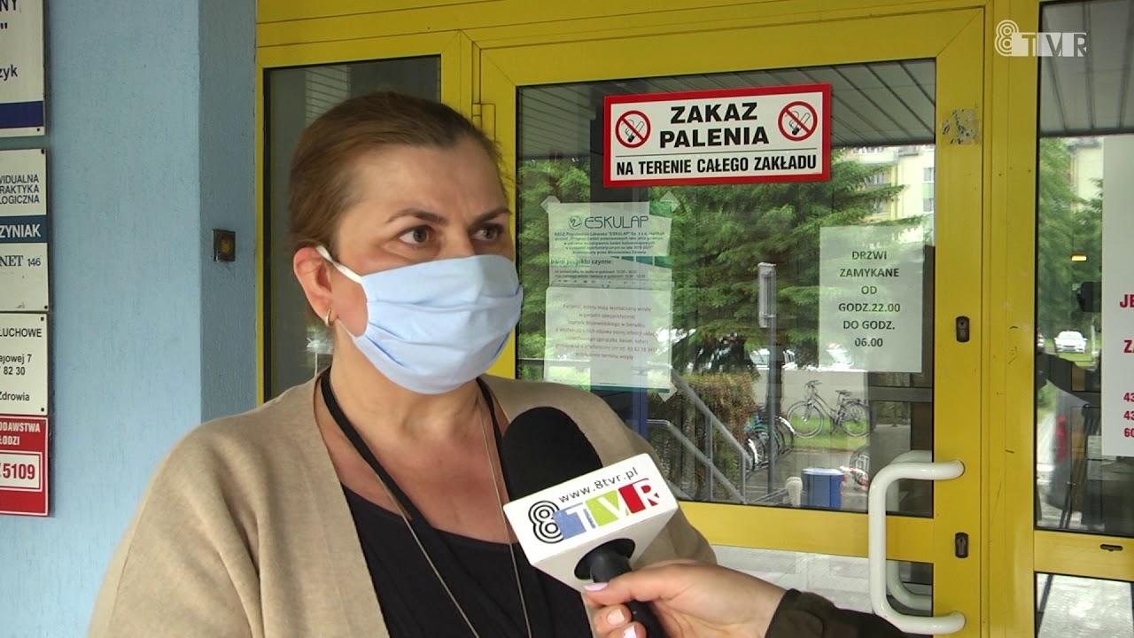 Nowe zakażenia covid-19 w Szpitalu Wojewódzkim w Sieradzu