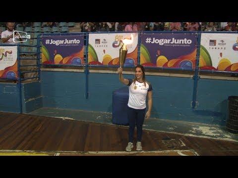 Cerimônia marca abertura dos Jogos Abertos no Grande ABC