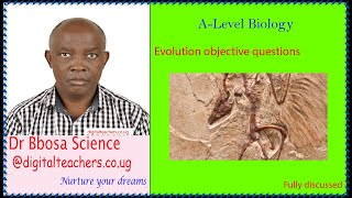 Evolution objective revision questions