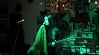 Sarah Blacker - 'Oh, Holy Night' live at Steel City, w/Sharon Little