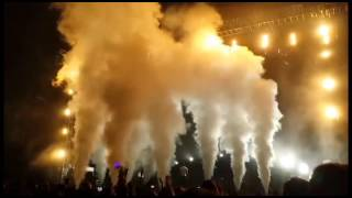 WTF | What The Fireworks | Криоэффекты на концерте