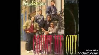 New Edition- Count Me Out