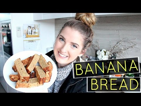 Video HEALTHY BANANA BREAD | No Refined Sugars, Butter Or Oil!