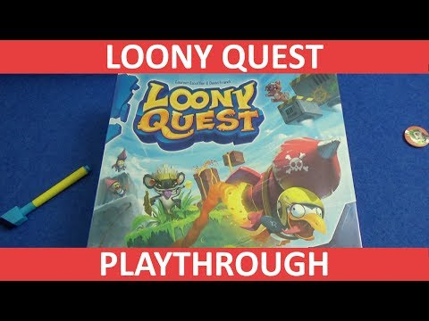 Loony Quest - Playthrough