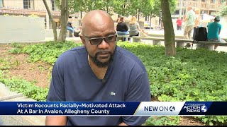Victim recounts alleged racially-motivated attack at Avalon bar
